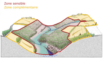 carte des zones sensibles